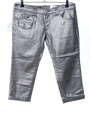 GF Ferré 3/4-broek zilver casual uitstraling