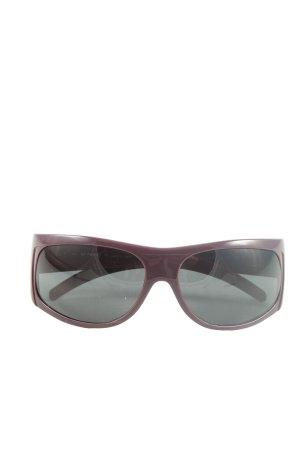 GF Ferré ovale Sonnenbrille lila Casual-Look
