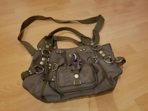 George Gina & Lucy Sac Baril vert olive polyester