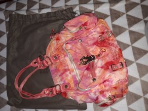 George Gina & Lucy Sac en toile orange clair-rose