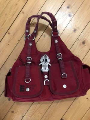 George Gina & Lucy Bowling Bag carmine