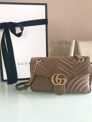 GG Marmont Mini-Tasche aus Matelassé-Leder