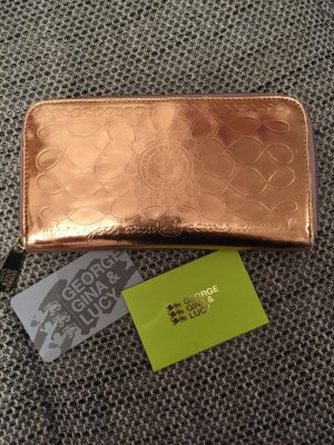 George Gina & Lucy Wallet rose-gold-coloured