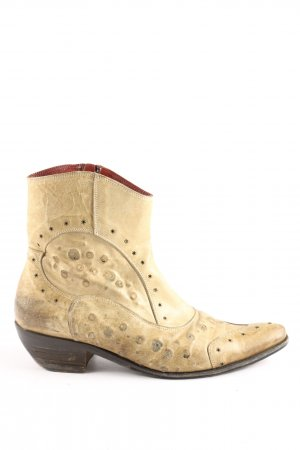 Ghost Western-Stiefeletten creme Casual-Look
