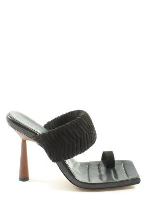 GIA/RHW Riemchen-Sandaletten schwarz Casual-Look