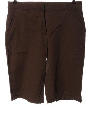 Giada Pantalone a 3/4 marrone stile casual