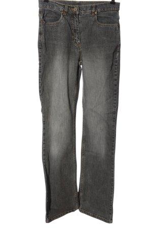 Giada Jeans a vita alta grigio chiaro stile casual