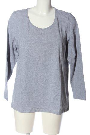 Giada Manica lunga grigio chiaro puntinato stile casual