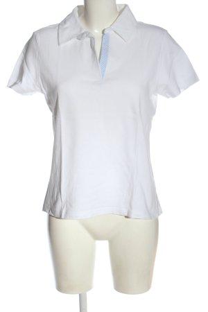 Giada Polo bianco stile casual