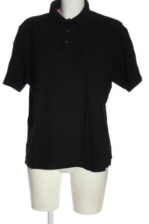 Giada Polo nero stile casual