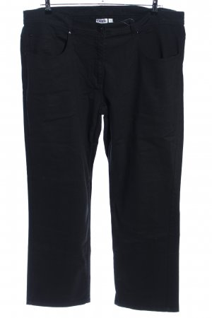 Giada Straight-Leg Jeans schwarz Casual-Look