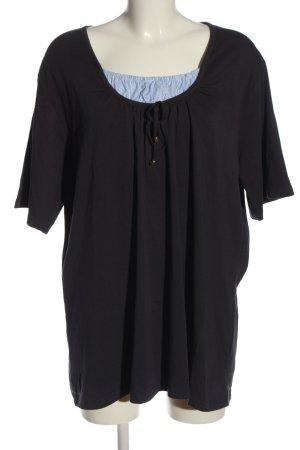 Giada Camicia maglia motivo a righe stile casual