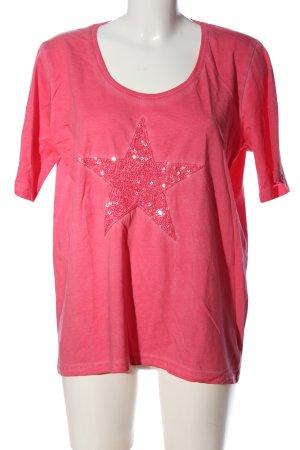 Giada T-shirt rosso stile casual