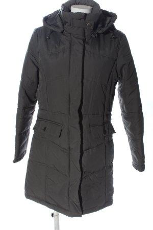 Giada Giacca invernale grigio chiaro motivo trapuntato stile casual