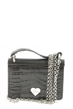 Giambattista Valli x H&M Mini Bag black animal pattern casual look