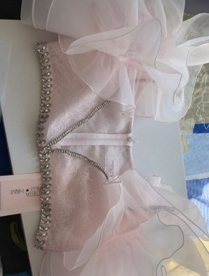 H&M Corsage Top light pink-pink