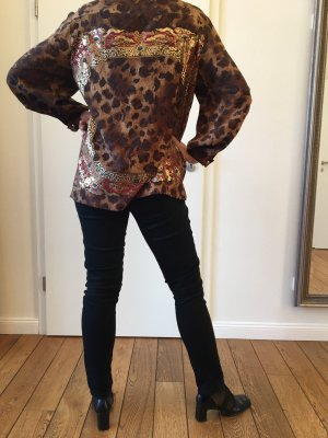 Gianfranco Ferré Zijden blouse veelkleurig Zijde