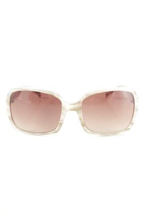 Gianfranco Ferré eckige Sonnenbrille mehrfarbig Elegant