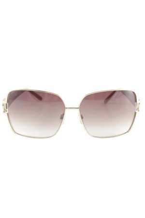 Gianfranco Ferré Hoekige zonnebril veelkleurig wetlook