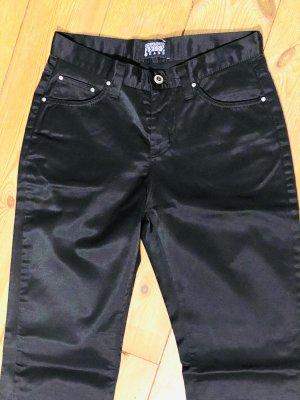 Gianfranco Ferré Jeans a gamba dritta nero Cotone