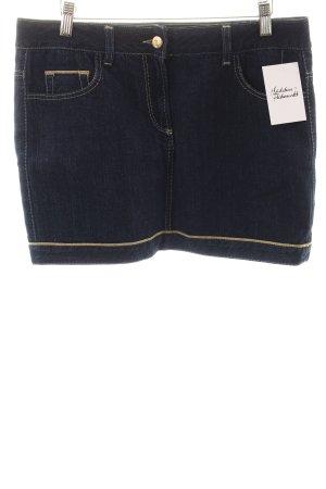 Gianfranco Ferré Gonna di jeans blu scuro stile casual