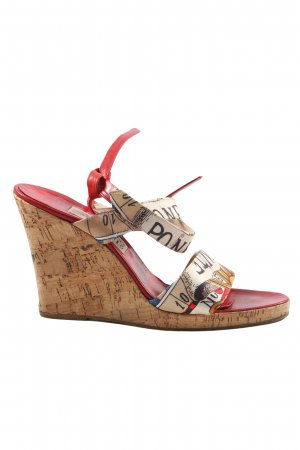 Gianfranco Ferré Strapped High-Heeled Sandals allover print casual look