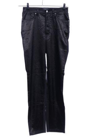 Gianfranco Ferré Pantalone jersey nero stile casual