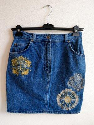 Gianfranco Ferré Denim Skirt multicolored