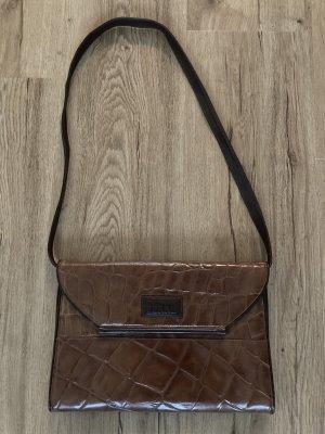 Gianfranco Ferré Shoulder Bag brown leather