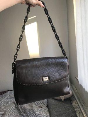 Gianfranco Ferré Shoulder Bag dark brown