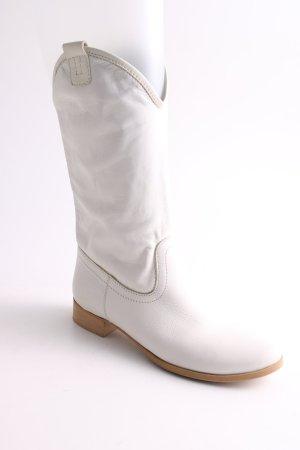 gianluca giordano Botki biały W stylu casual
