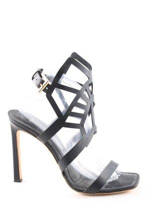 Gianmarco Lorenzi High Heel Sandaletten schwarz Elegant