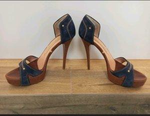 Gianmarco Lorenzi Comfort Sandals brown