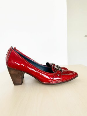 Gianna di firenze Chaussure décontractée rouge tissu mixte
