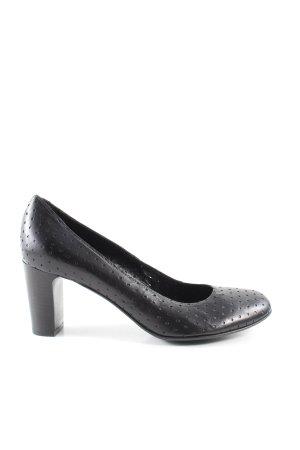 Gianni Barbato High Heels schwarz Business-Look