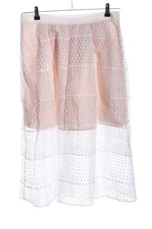 Gianni Bini Kanten rok nude casual uitstraling
