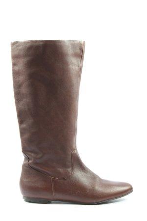 Gianni Bini Wide Calf Boots brown casual look