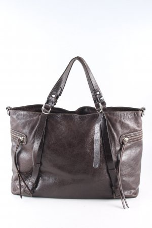 Gianni chiarini Henkeltasche hellgrau Business-Look