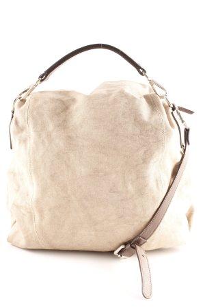 Gianni chiarini Schultertasche dunkelbraun-beige Casual-Look