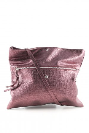 Gianni chiarini Umhängetasche pink Webmuster Casual-Look