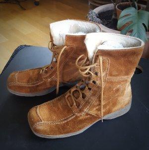 Gianni Gregori Short Boots cognac-coloured leather