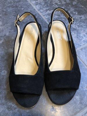 Gianni Gregori Wygodne sandały czarny