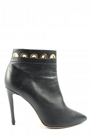 GIANNI MARRA Reißverschluss-Stiefeletten schwarz Casual-Look