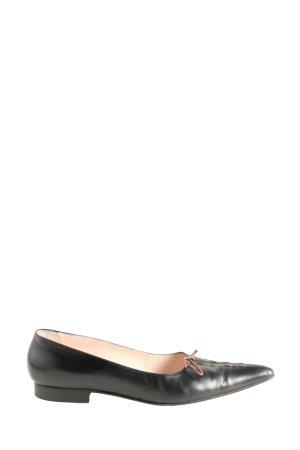 Gianni Milanesi Slip-on Shoes black casual look