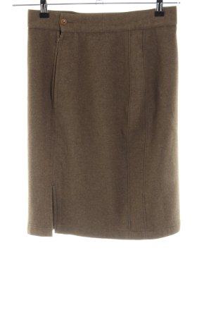 Gianni Versace Bleistiftrock braun Casual-Look