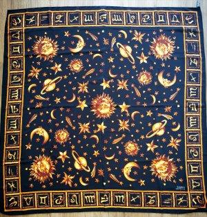 Gianni Versace Zijden doek zwart-goud Zijde