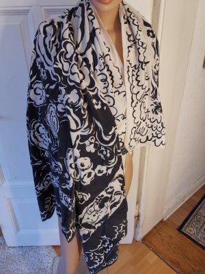 Gianni Versace Zijden doek wit-zwart Zijde