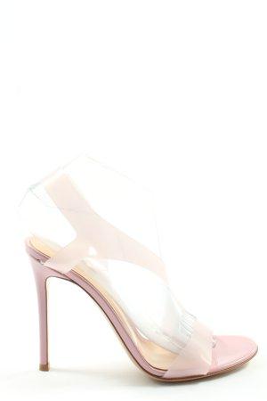 Gianvito rossi High Heel Sandaletten pink Elegant