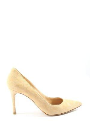 Gianvito rossi Chaussure à talons carrés blanc cassé élégant