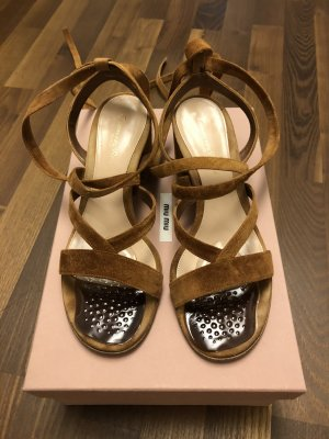 Gianvito rossi Roman Sandals bronze-colored